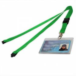 Nylon Detachable Lanyard with Safety Clip