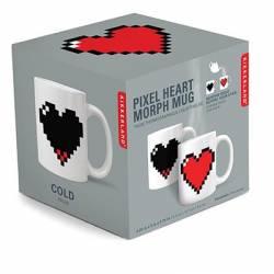 Pixel Heart Morph Mug