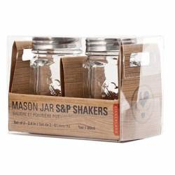 Mason S and P shakers
